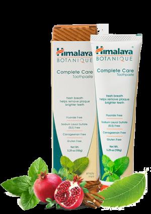 Botanique Complete Care Tandpasta Mint met de kruiden Neem en granaatappel, zonder fluoride