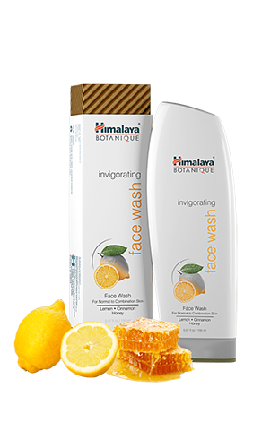 Himalaya Face Wash Invigorating lemon