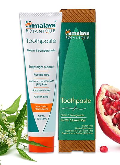 Neem & Pomegranate Tandpasta - Biologische tandpasta met Neem kruid
